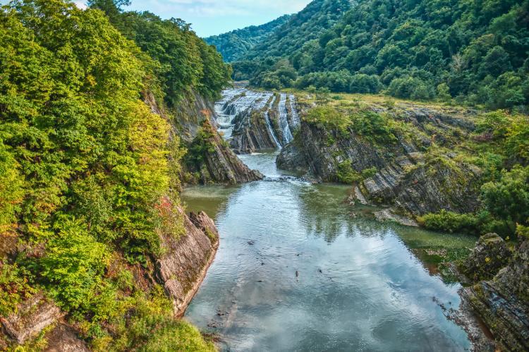 千鳥瀑布(瀧之上公園)
