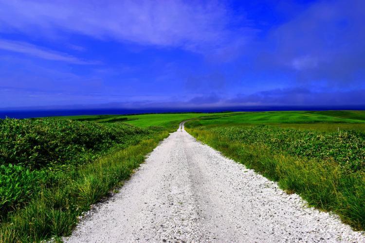 白色道路(宗谷周邊)