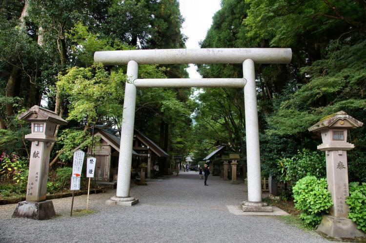 天岩戶神社西本宮
