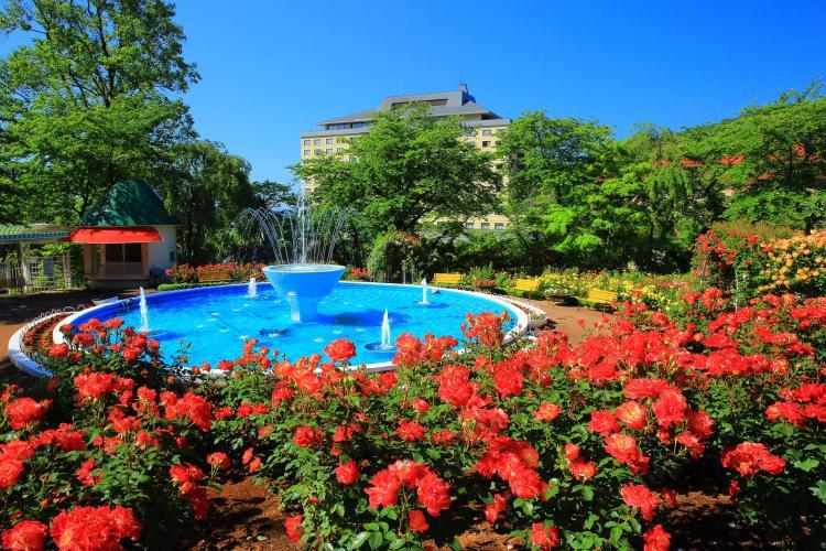 花卷溫泉 玫瑰園
