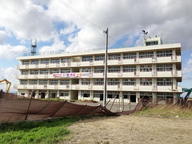 舊荒濱小學(震災遺構)