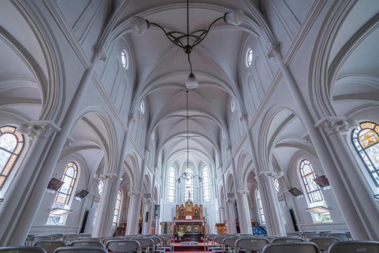 天主教會鶴岡教會天主堂