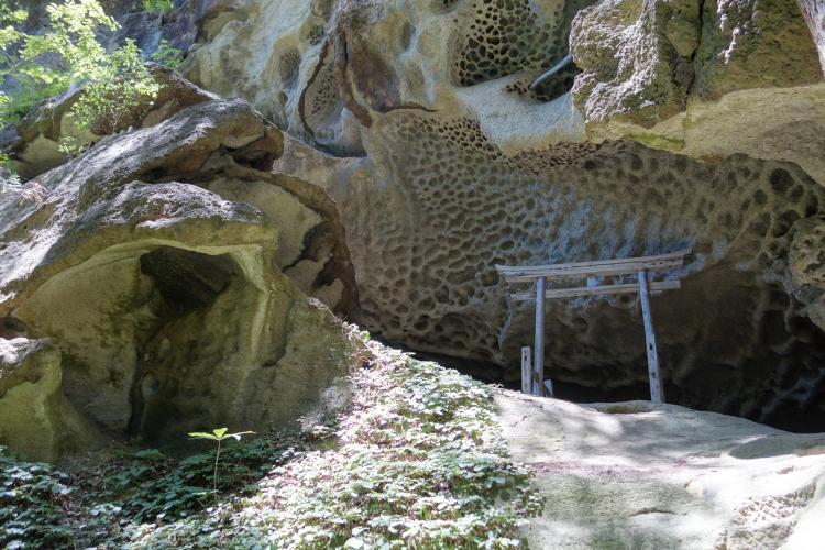 垂水遺跡(裏山寺)