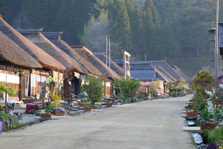 大内宿(傳統建造物群保存地區)