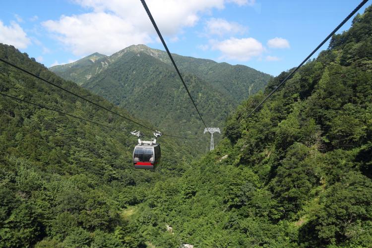 谷川岳纜車