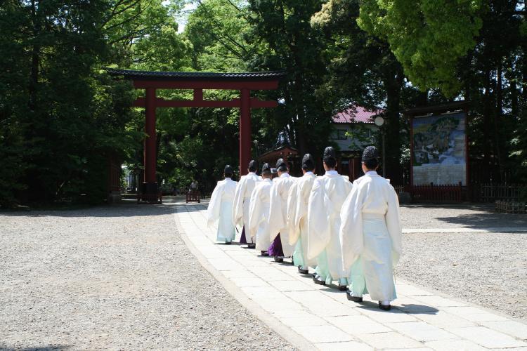 武藏一宮冰川神社(大宮冰川神社)