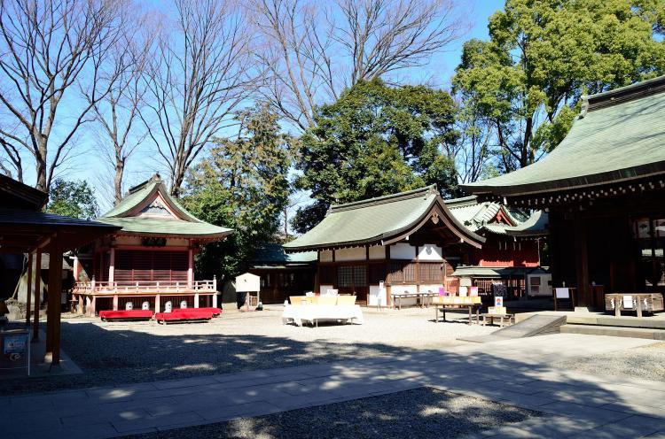 川越冰川神社