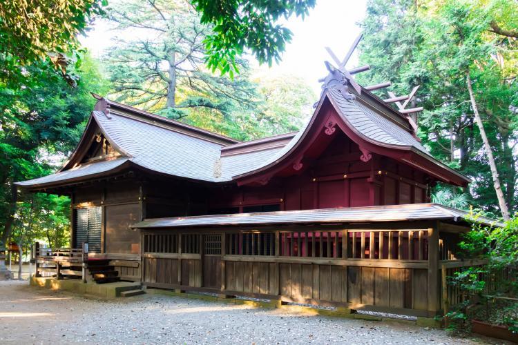 冰川女體神社