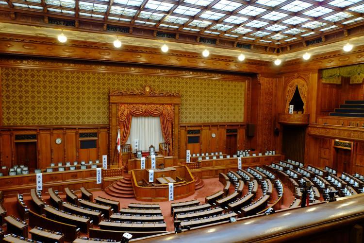国会議事堂參議院