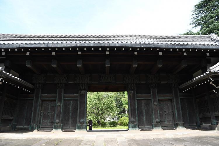 舊因州池田屋敷表門