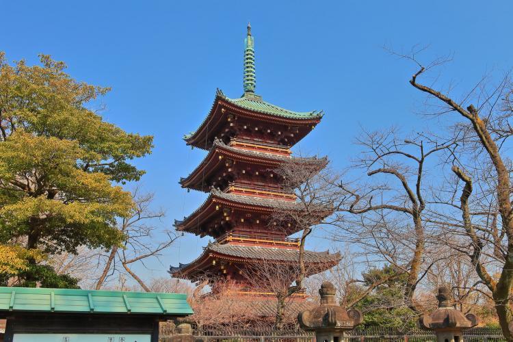 舊寛永寺五重塔