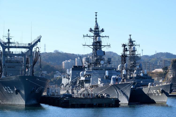 橫須賀軍港巡遊