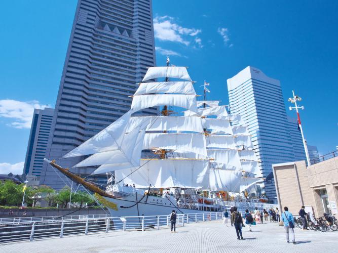 日本丸紀念公園(横濱:港未來地區)