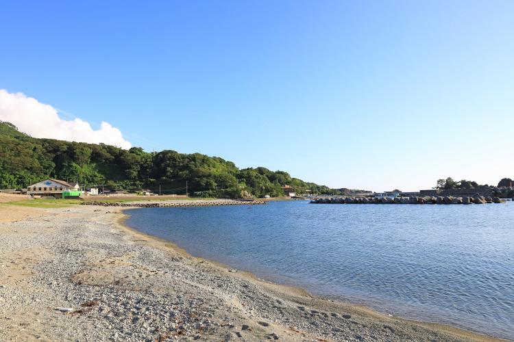 達者海水浴場(佐渡島)