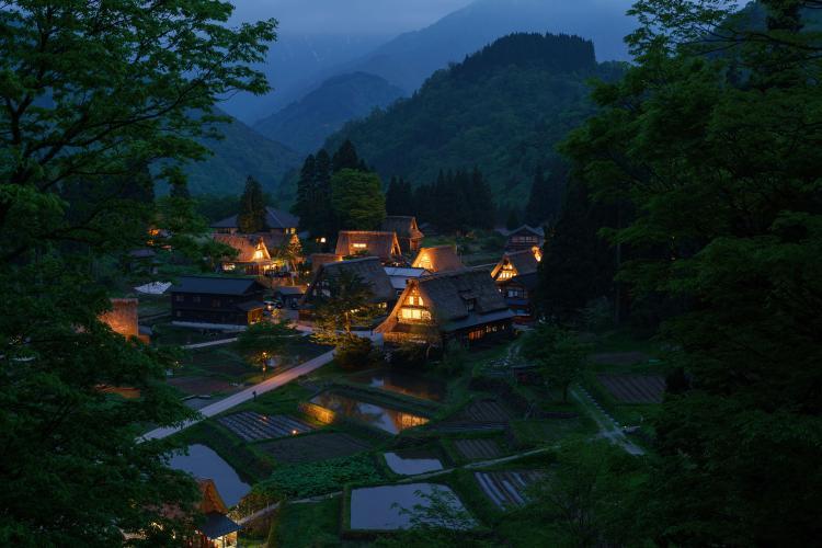 相倉合掌造村落(傳統建造物群保存地區)