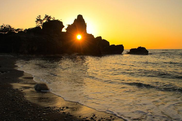曽曽木海岸
