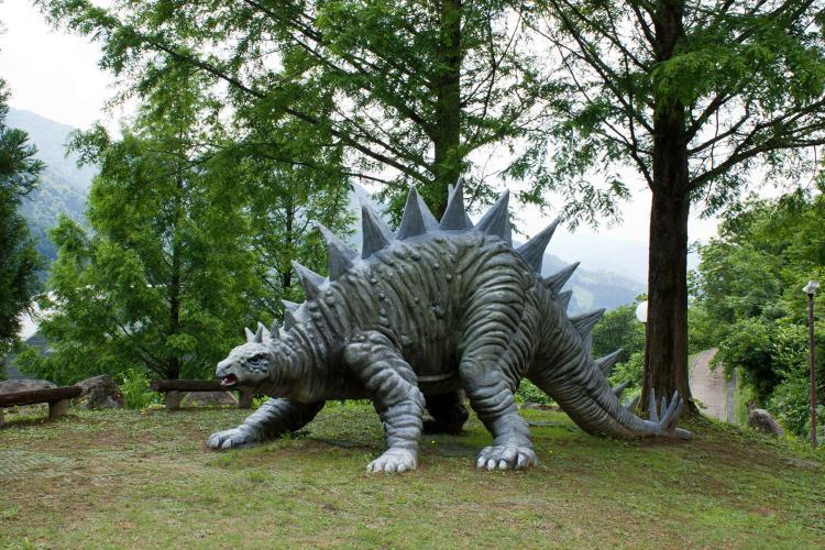 白山恐龍公園白峰