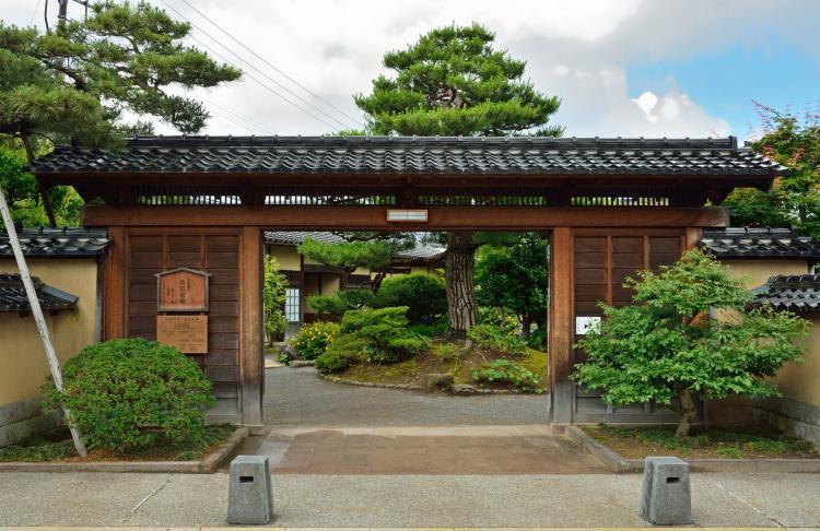 舊加賀藩士高田家跡
