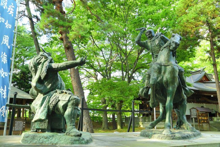 川中島古戰場史跡公園(八幡原史跡公園)