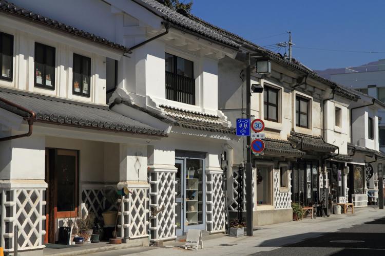 松本城周邊商店街(繩手通・中町通)