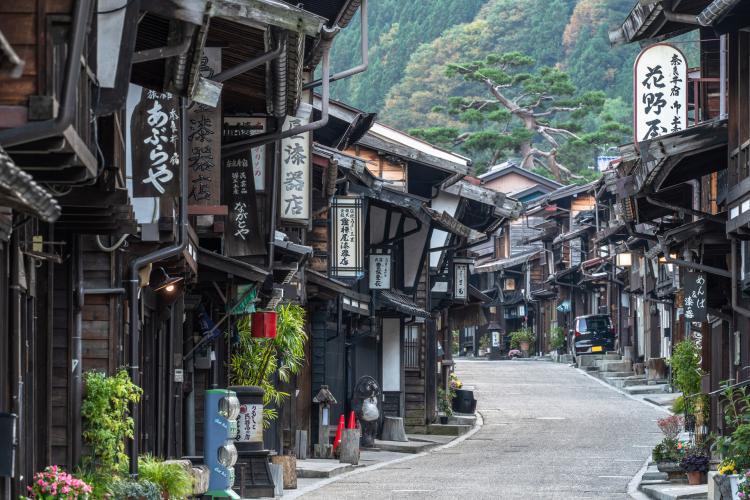 奈良井宿(傳統建造物群保護地區)