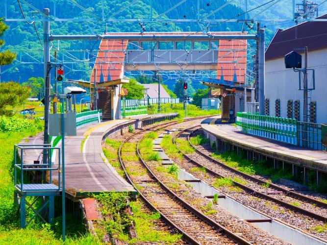 信濃森上車站