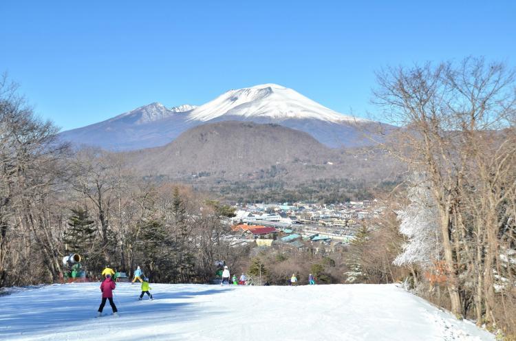 輕井澤王子飯店滑雪場