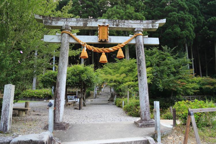 根道神社 (莫內之池)