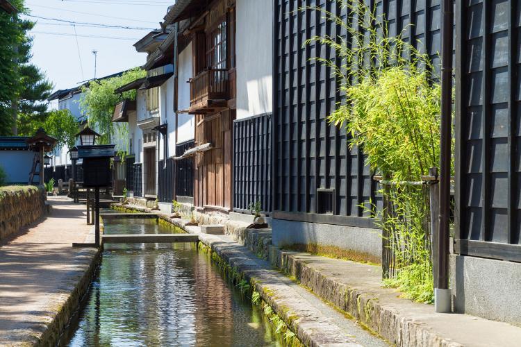 白壁土蔵街(飛騨古川)