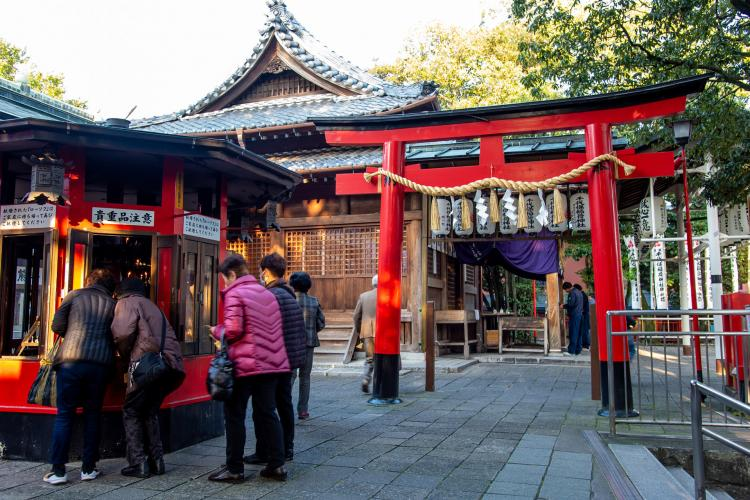 千代保稻荷神社