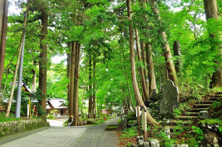 東口本宮富士淺間神社