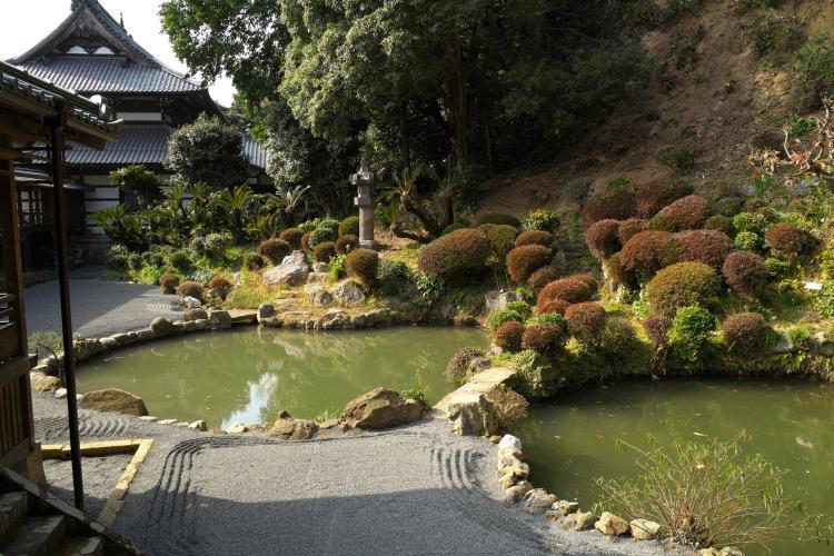 清見寺庭園