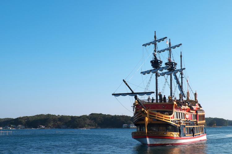 賢島西班牙遊覽船(英虞灣遊覧)