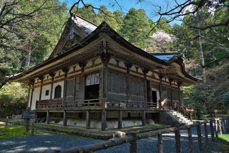 釋迦山 百濟寺(湖東三山)