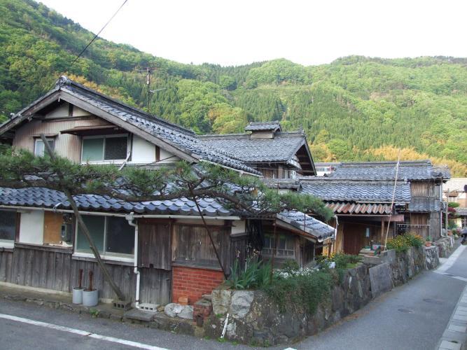 菅浦的湖岸聚落景觀