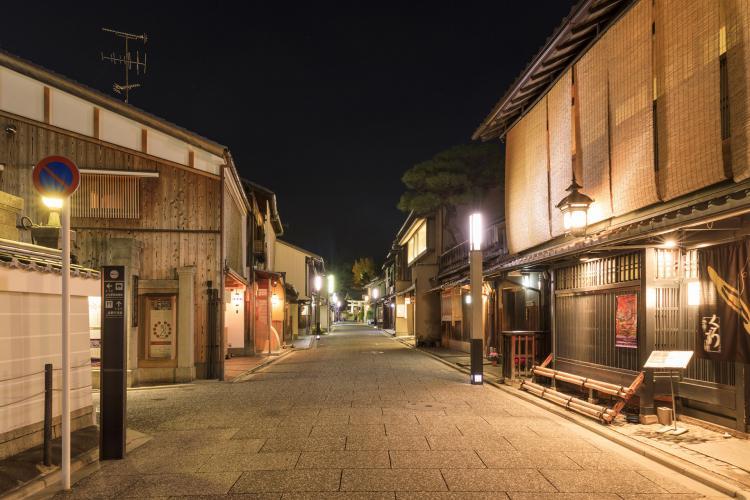 花街(上七軒)