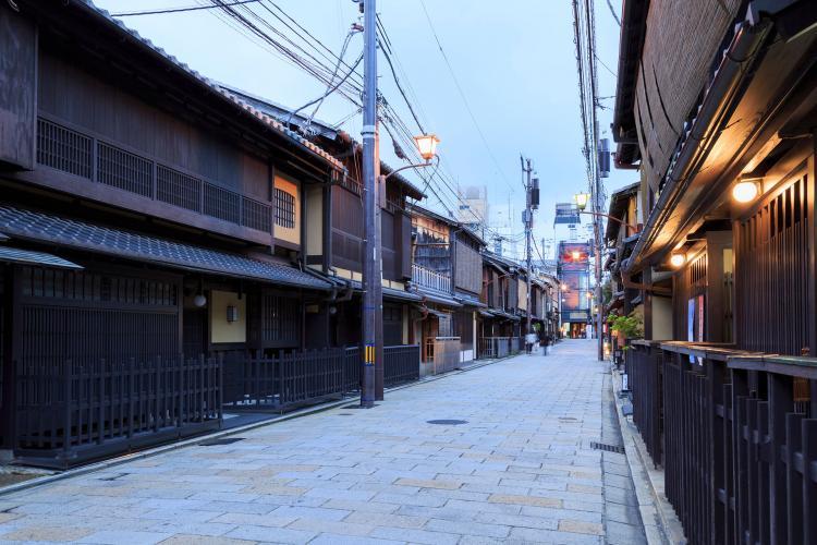 祇園新橋傳統建造物群保存地區
