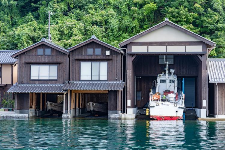 伊根灣船屋群(傳統建造物群保存地區)