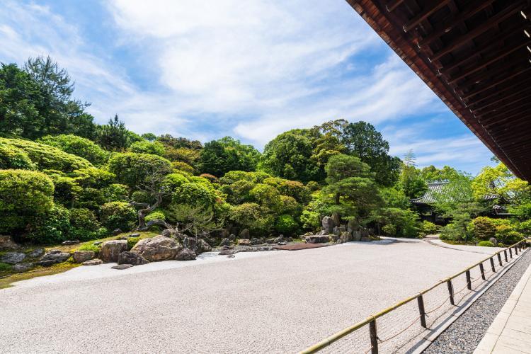 金地院庭園(鶴龜庭園)
