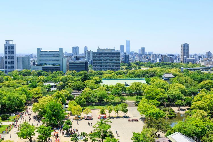 大阪城公園/西之丸庭園