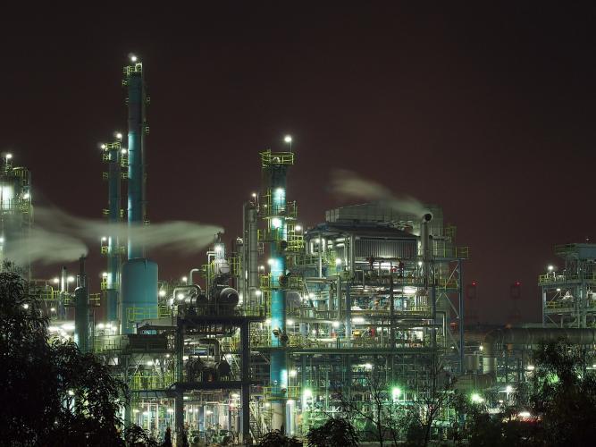 【工場夜景】高石