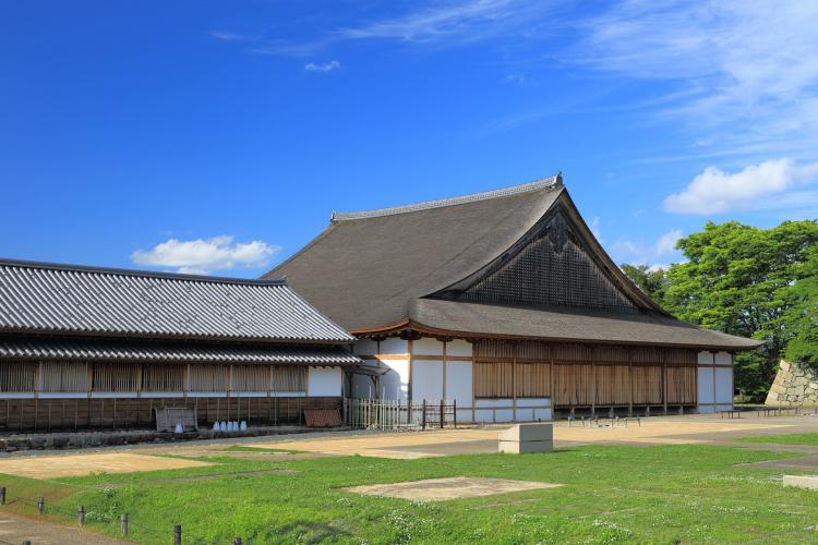 筱山城 大書院