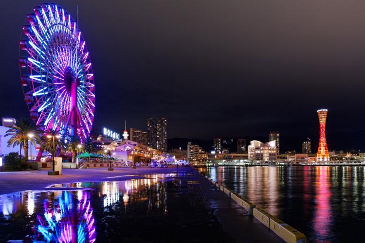 神戶海灣地區