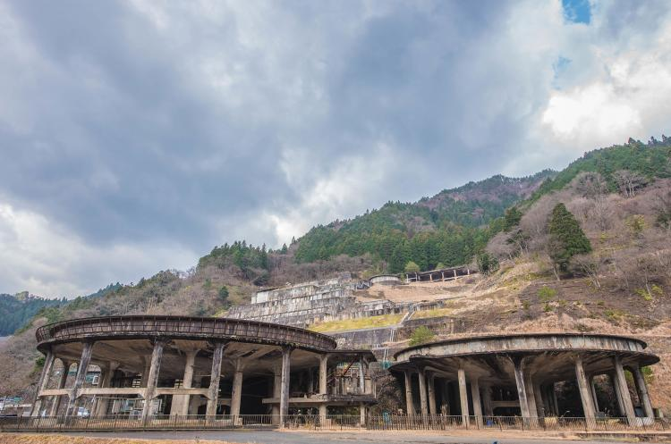 神子田選礦場遺址