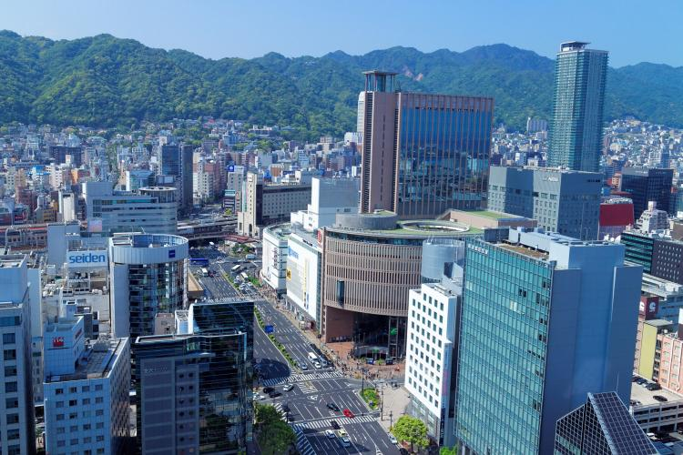 神戸市役所展望大廳