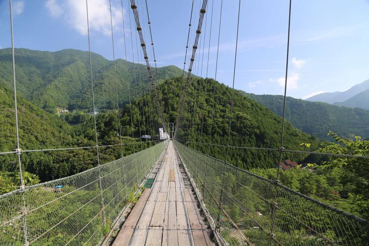 谷瀬之吊橋
