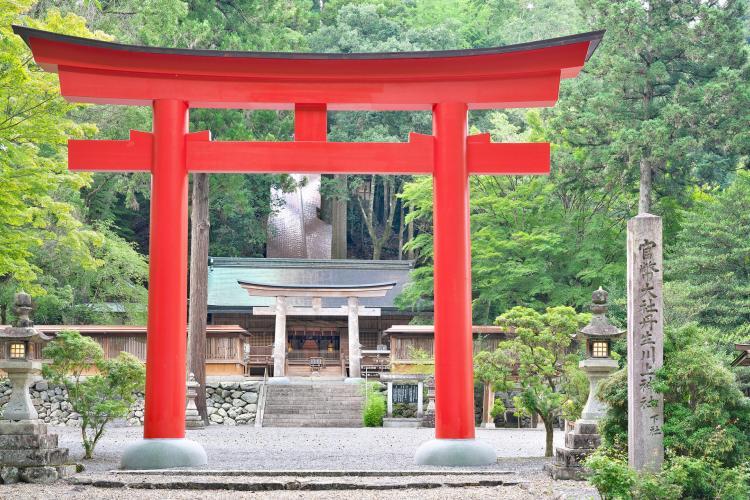 丹生川上神社(下社)