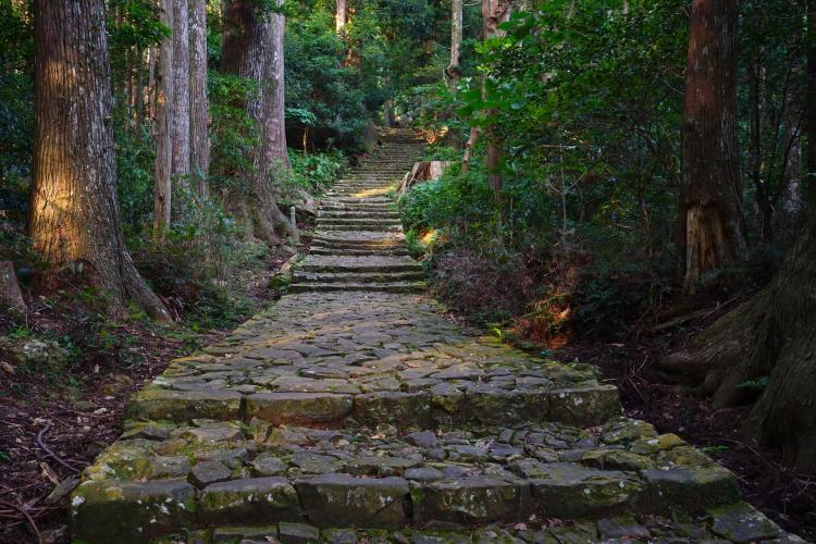 熊野古道(中邊路)