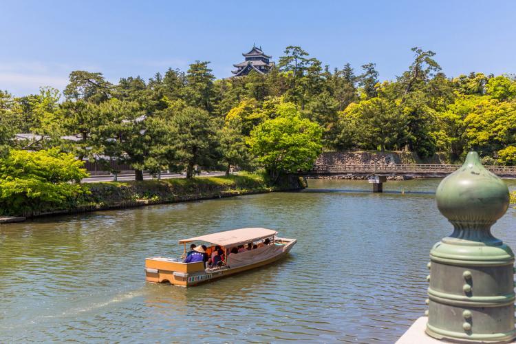 堀川遊覽船(大手前乗場)
