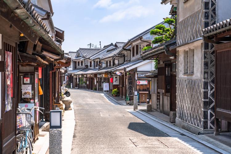 倉敷美觀地區(倉敷川畔傳統建造物群保存地區)